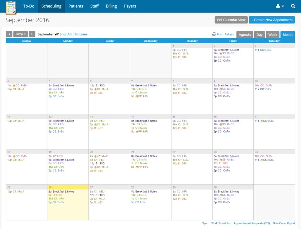 Calendar / Scheduling