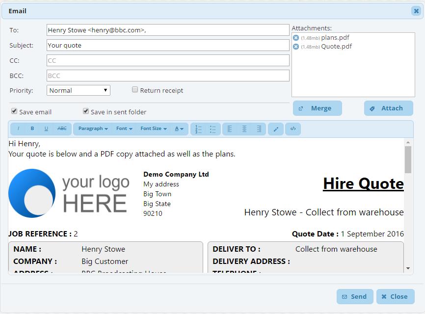 HireHop Software - 4