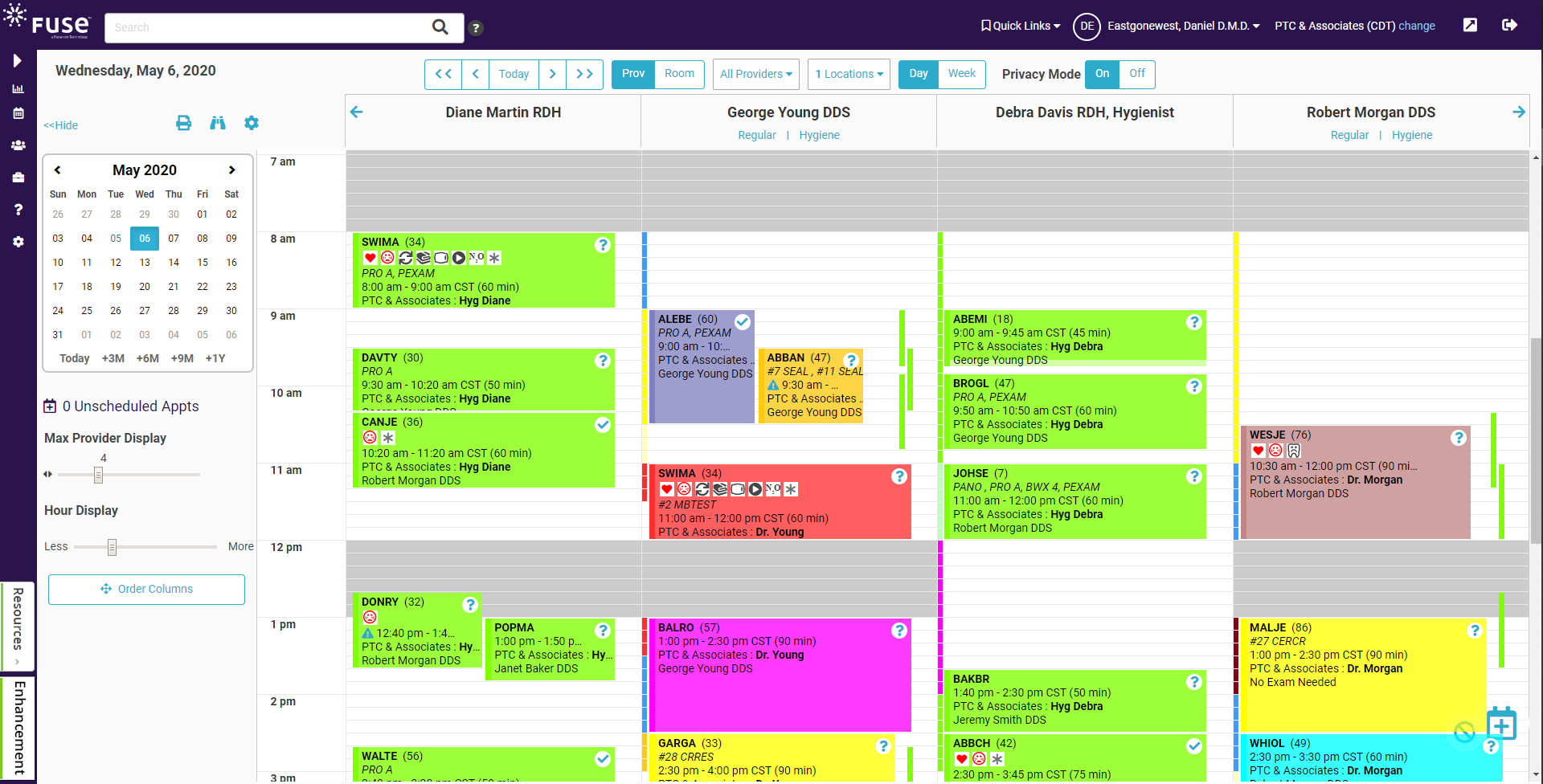 Easily manage tasks from scheduling to billing to insurance and everything in between with Fuse.