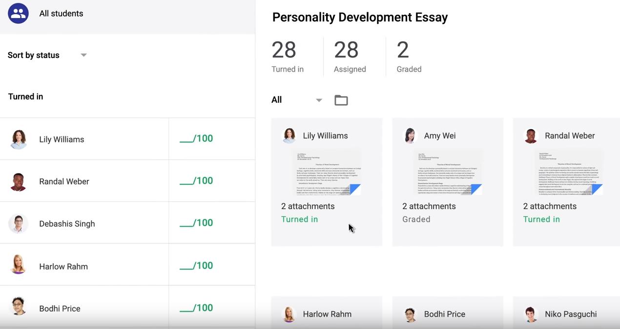 Google Classroom Software - 1