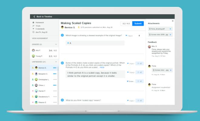 Kiddom Software - Digital Assessments