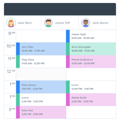 Power Diary one click appointment management screenshot