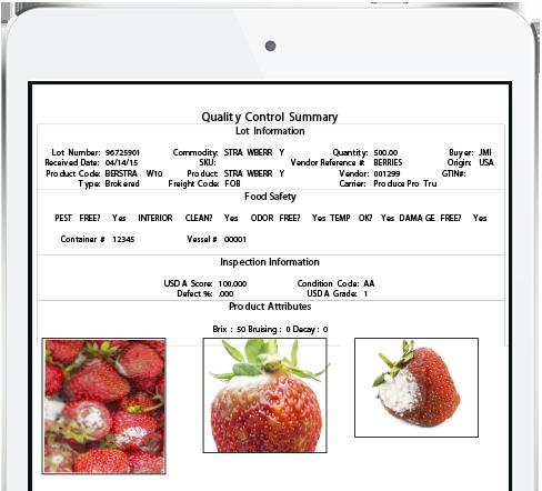 Quality control summary