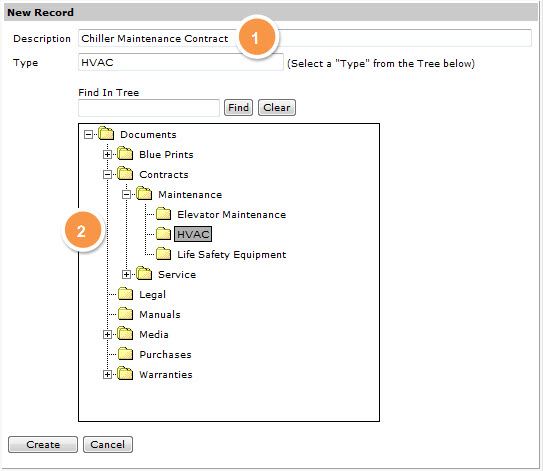 Transcendent screenshot: Adding documents is simple and quick