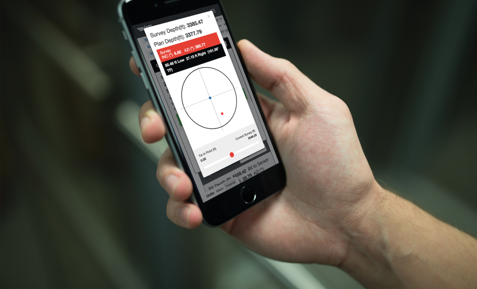 The surface data feed can be viewed in real time from any remote location or from any mobile device