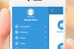 App4Legal screenshot: App4Legal mobile app menu