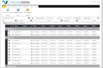 VisualCron screenshot: VisualCron file status