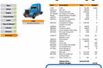 Capture d'écran pour Cincom CPQ : TruckDemo-ESignature