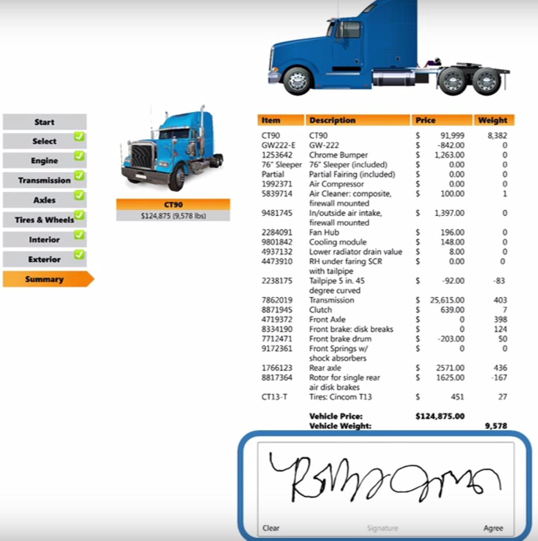 TruckDemo-ESignature