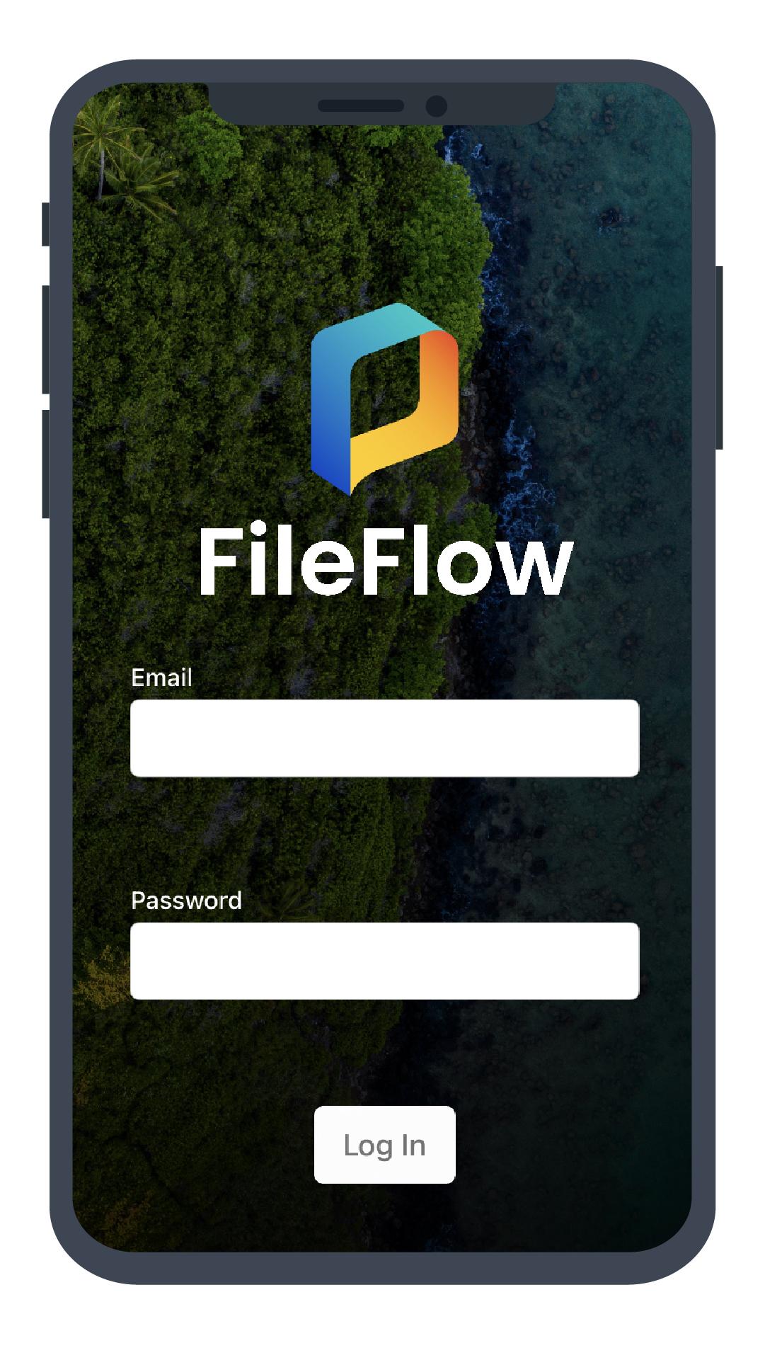 FileFlow Mobile App Login