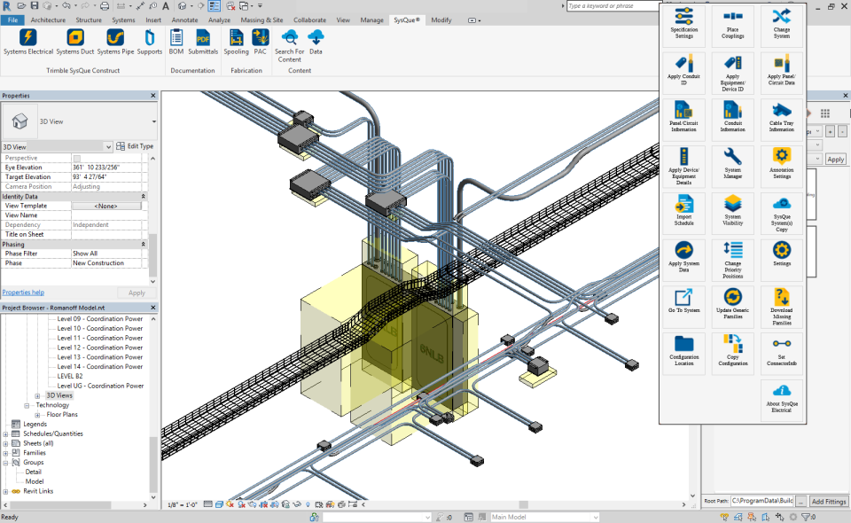 SysQue model design