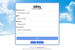 QBILLY Screenshot: Log in screen to review and approve invoices that will seamlessly integrate with QuickBooks desktop applications.