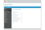 easyTithe screenshot: easyTithe personalized user account