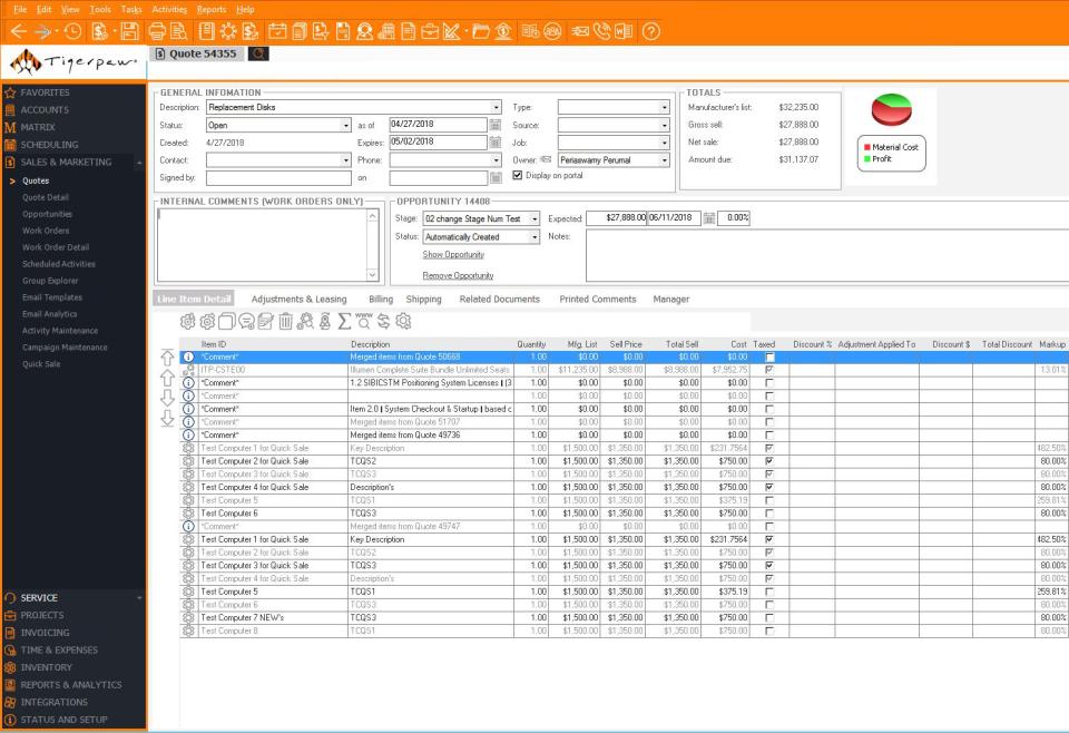 Tigerpaw Software Software - 5