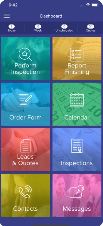 Link Inspect Pro Software - Link Inspect Pro dashboard