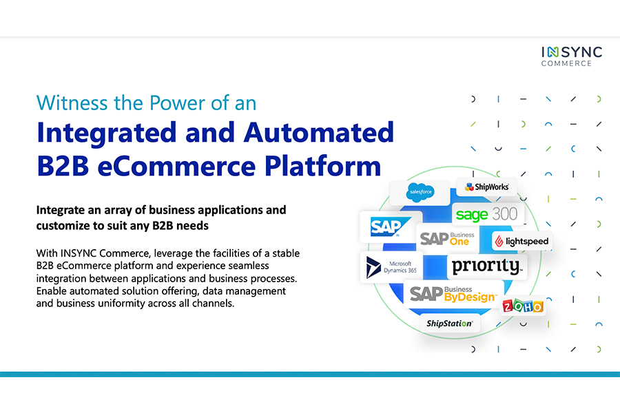 Integrate an array of Business Applications and customize to suit any B2B needs