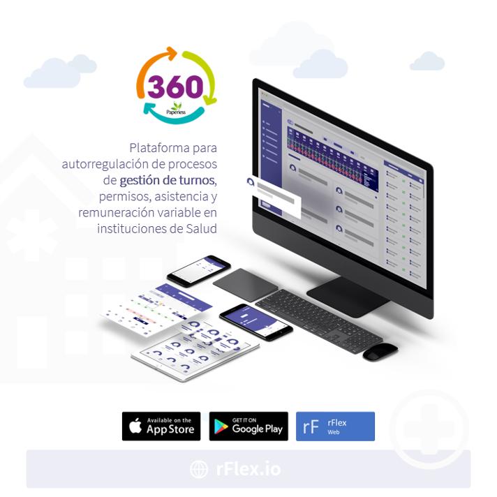 rFlex 360°: Plataforma para autorregulación de procesos de gestión de turnos, permisos, asistencia y remuneración variable en instituciones de Salud