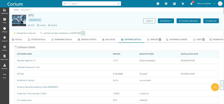 AssetSonar software details