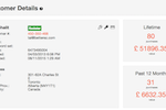 Betterez screenshot: Manage customer profiles and view their purchase history