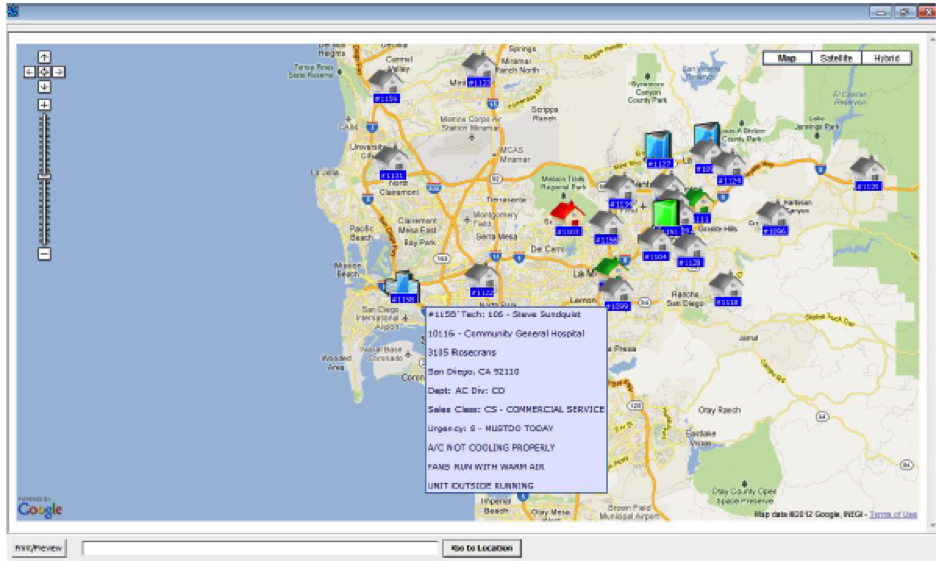 GPS Tracking and Google Map integration