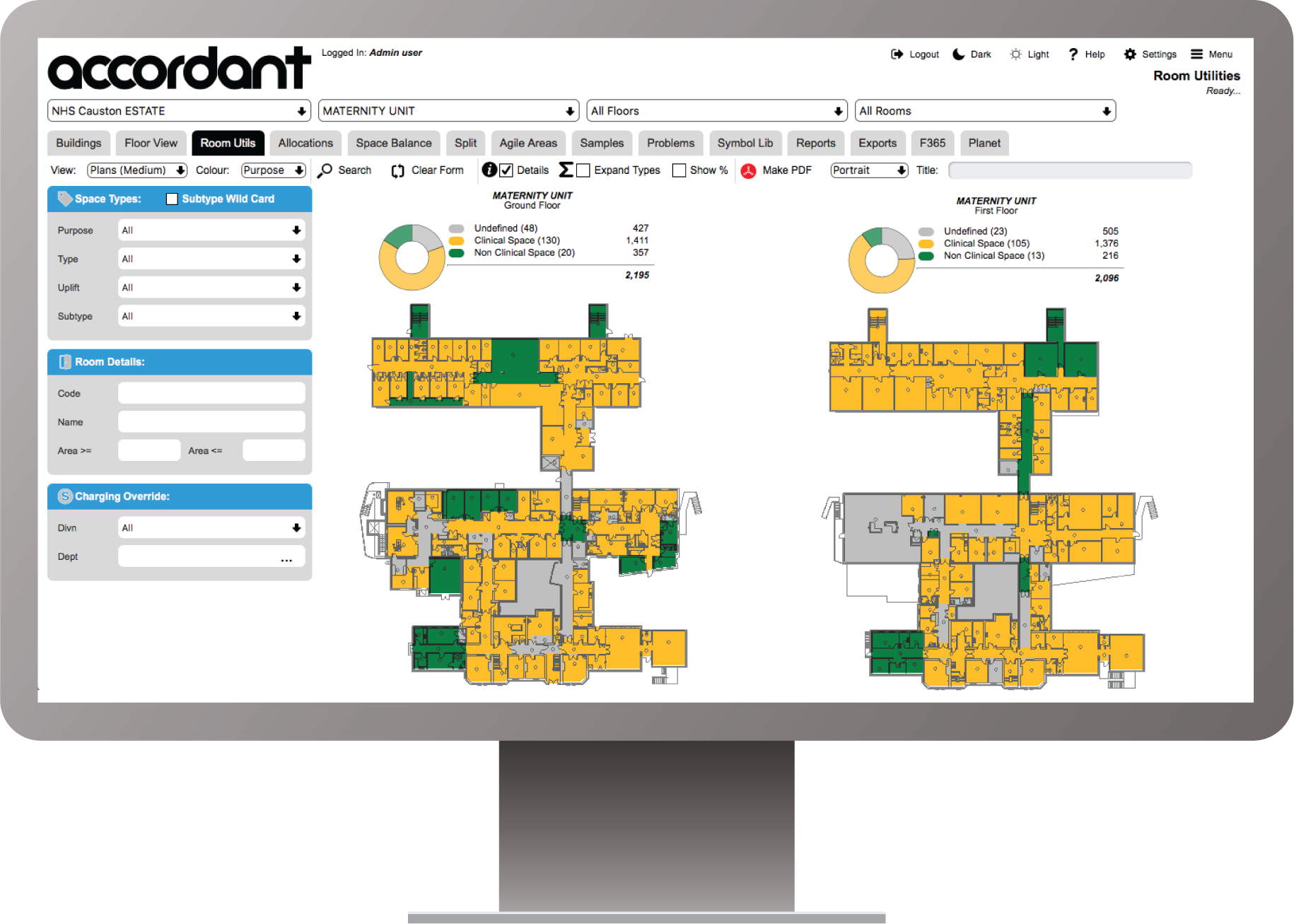 Accordant Software - Ideal for Healthcare, Manufacturing and Education