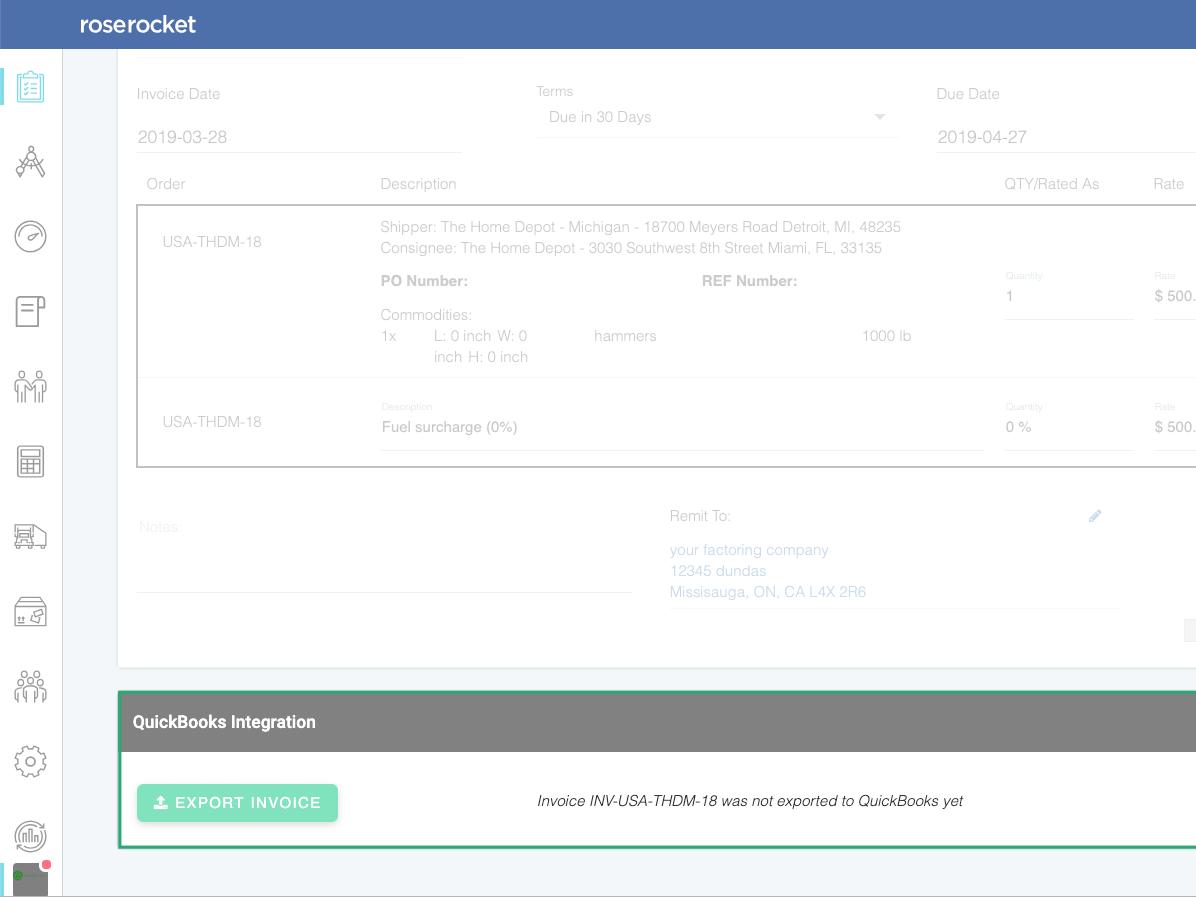 Rose Rocket Software - Integrate with QuickBooks, Samsara & more