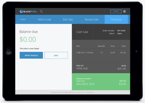 iPad point of sale allows you to sell from anywhere
