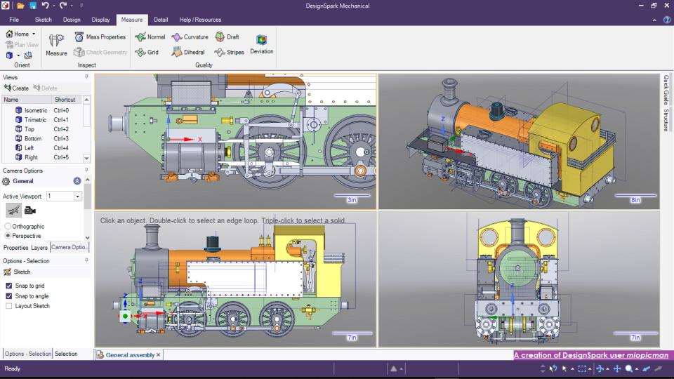 DesignSpark Mechanical Software - 2