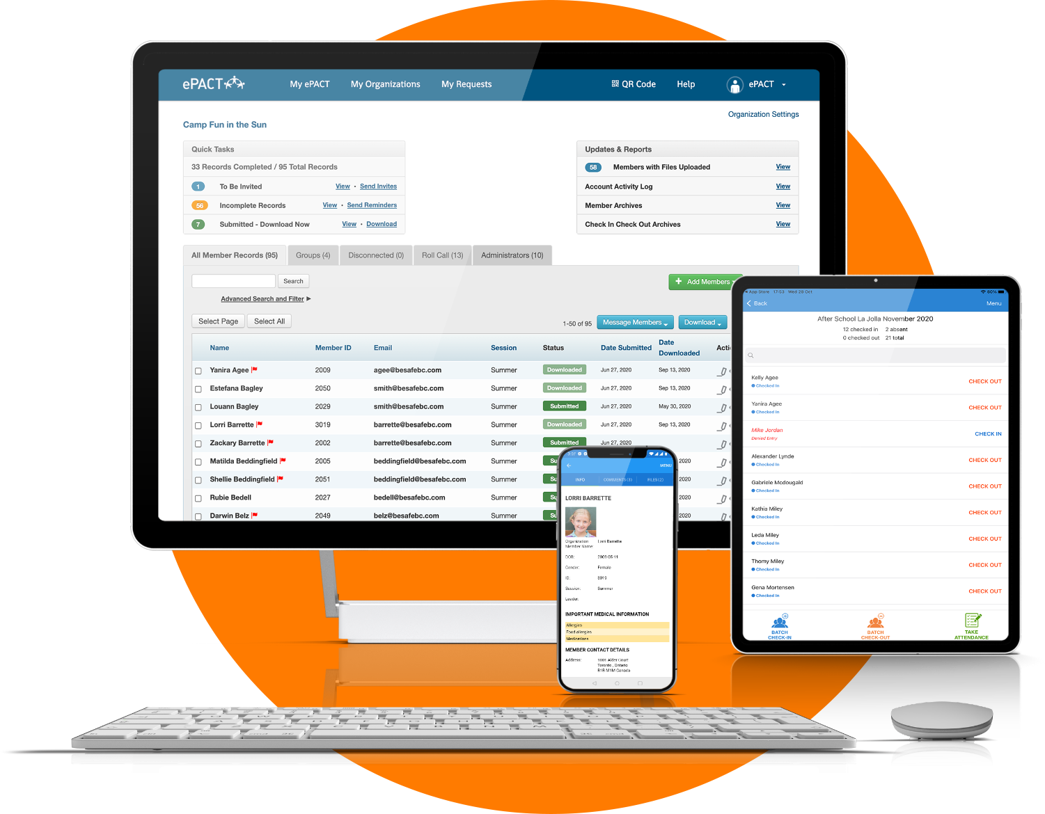 ePACT EHR & Emergency Forms for Desktop, Tablet and Mobile