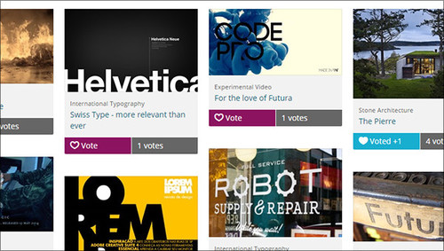 The Voting mode in Award Force encourages participants to share their entry on social media to gain votes