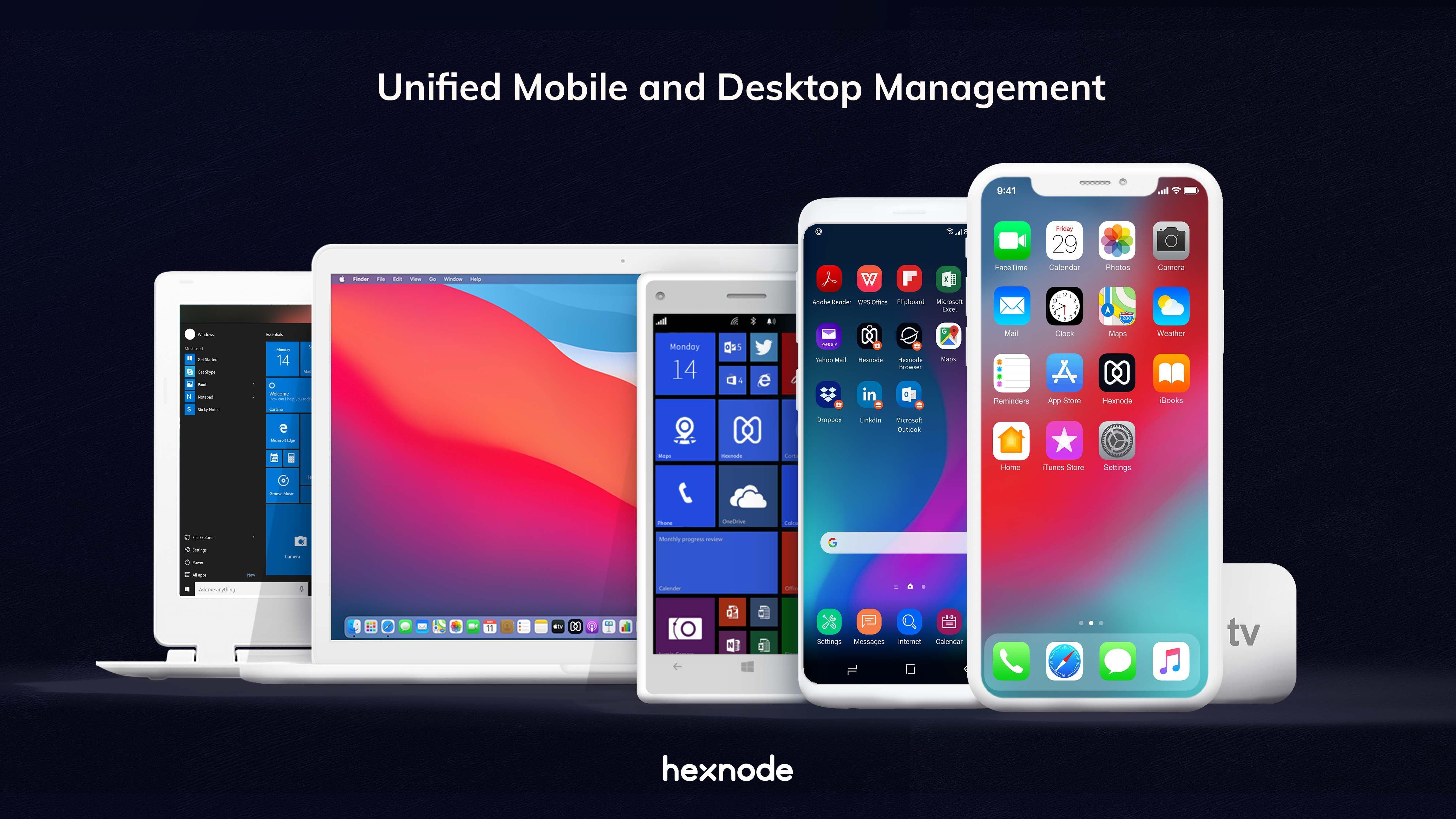 Hexnode UEM Software - Hexnode Unified Mobile and Desktop Management