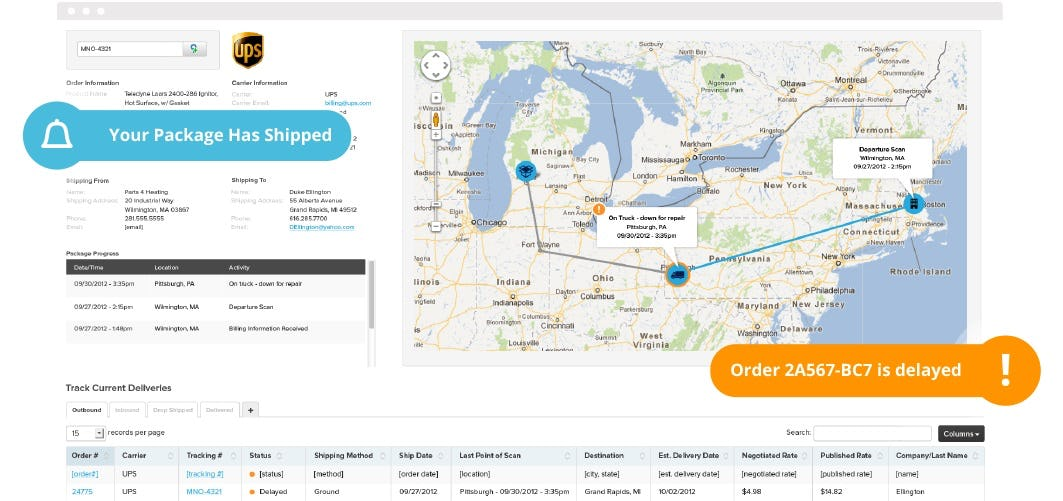 Clarity eCommerce Software - Shipping