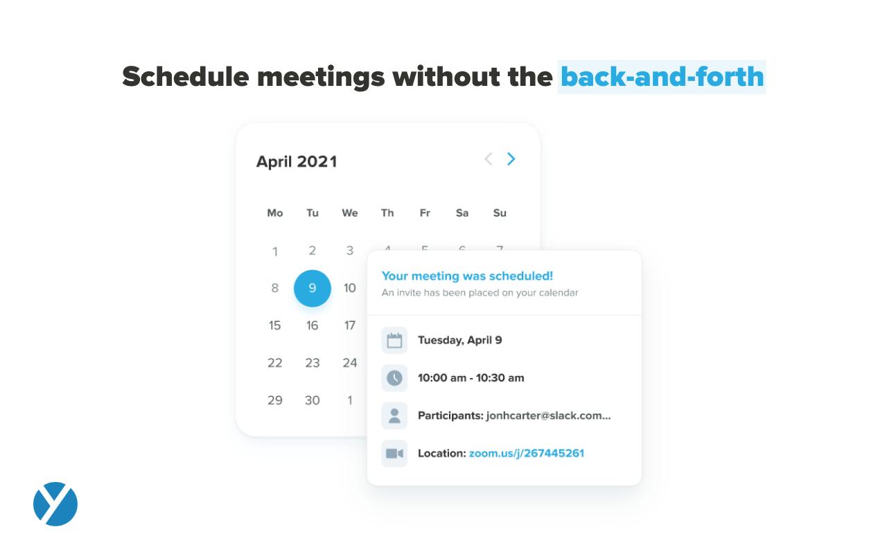 Yesware Software - Meeting Scheduler