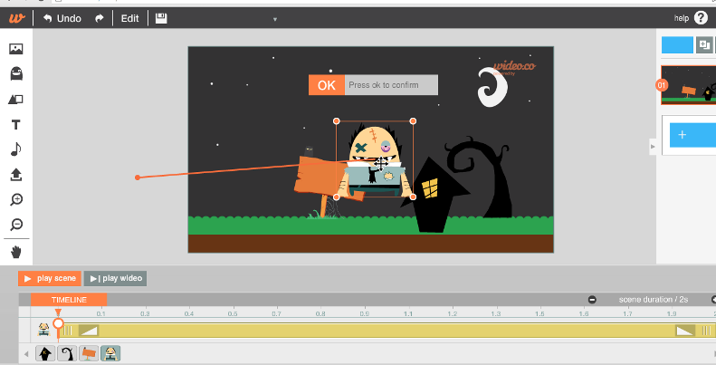 Create simple animations without any previous experience