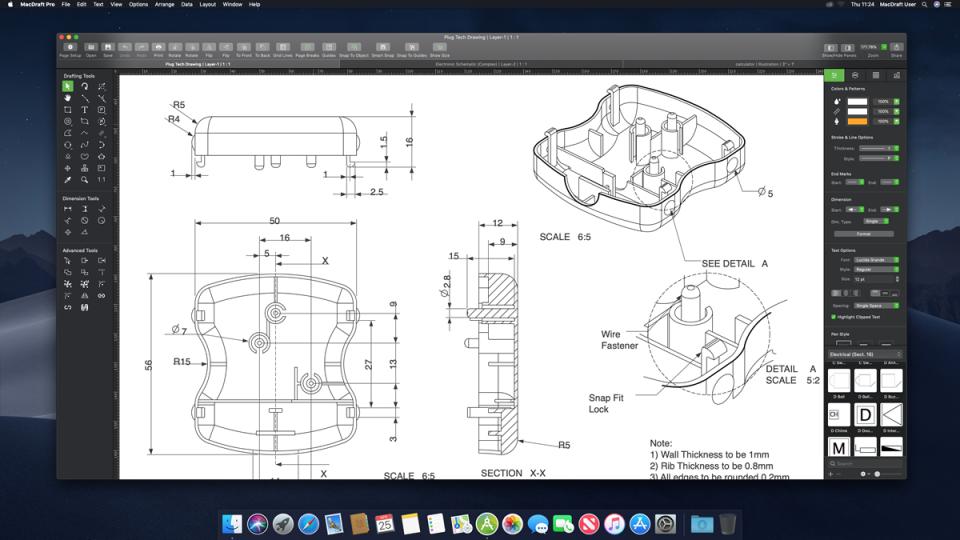 MacDraft Professional Software - 3