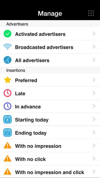 SmartAd Server iPhone app