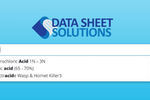 Data Sheet Solutions screenshot: Data Sheet Solutions employee access portal