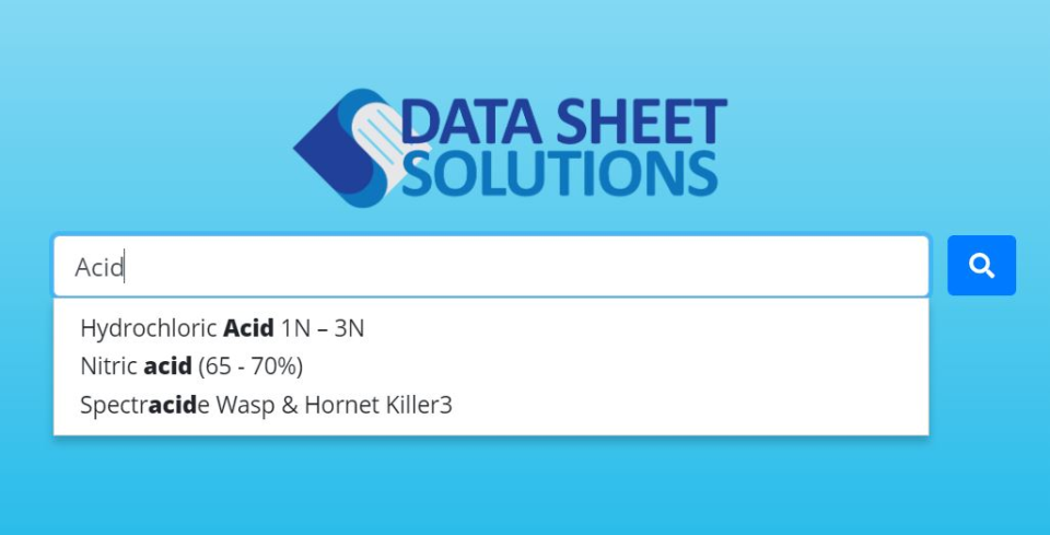 Data Sheet Solutions employee access portal