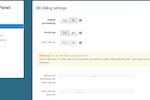 Capture d'écran pour CloudSigma : Auto top-up