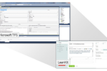 LeanKit screenshot: Use LeanKit as the visual layer to other tracking systems using our open source integration (shown: MS TFS)