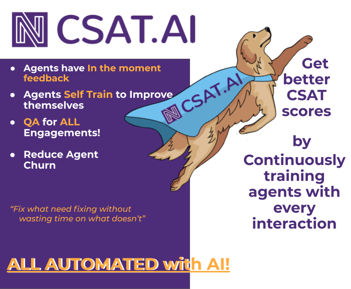 Get better CSAT Scores with continuous training