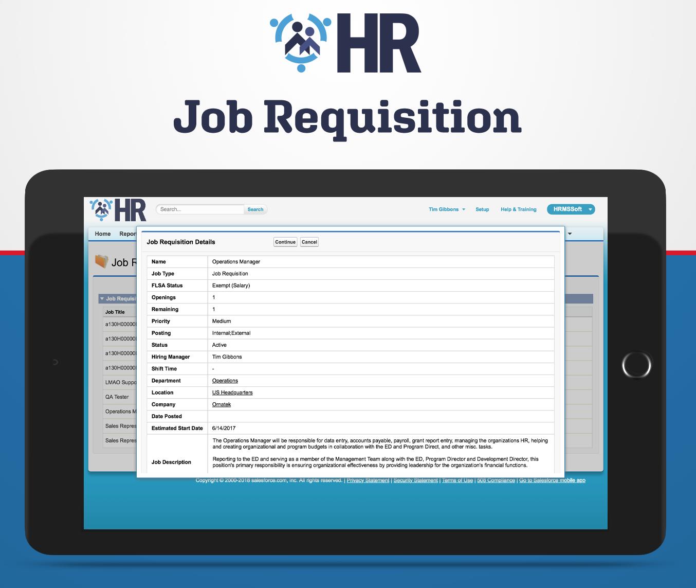 Job Requisition