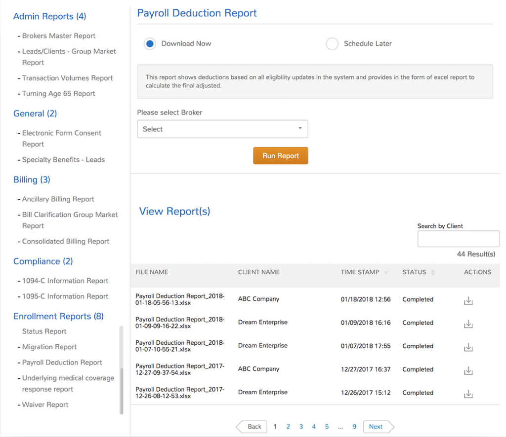 UZIO Software - UZIO reporting