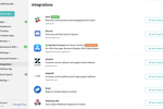 AppFollow screenshot: AppFollow integrates with third-party applications such as Slack, App Store, Discord and more