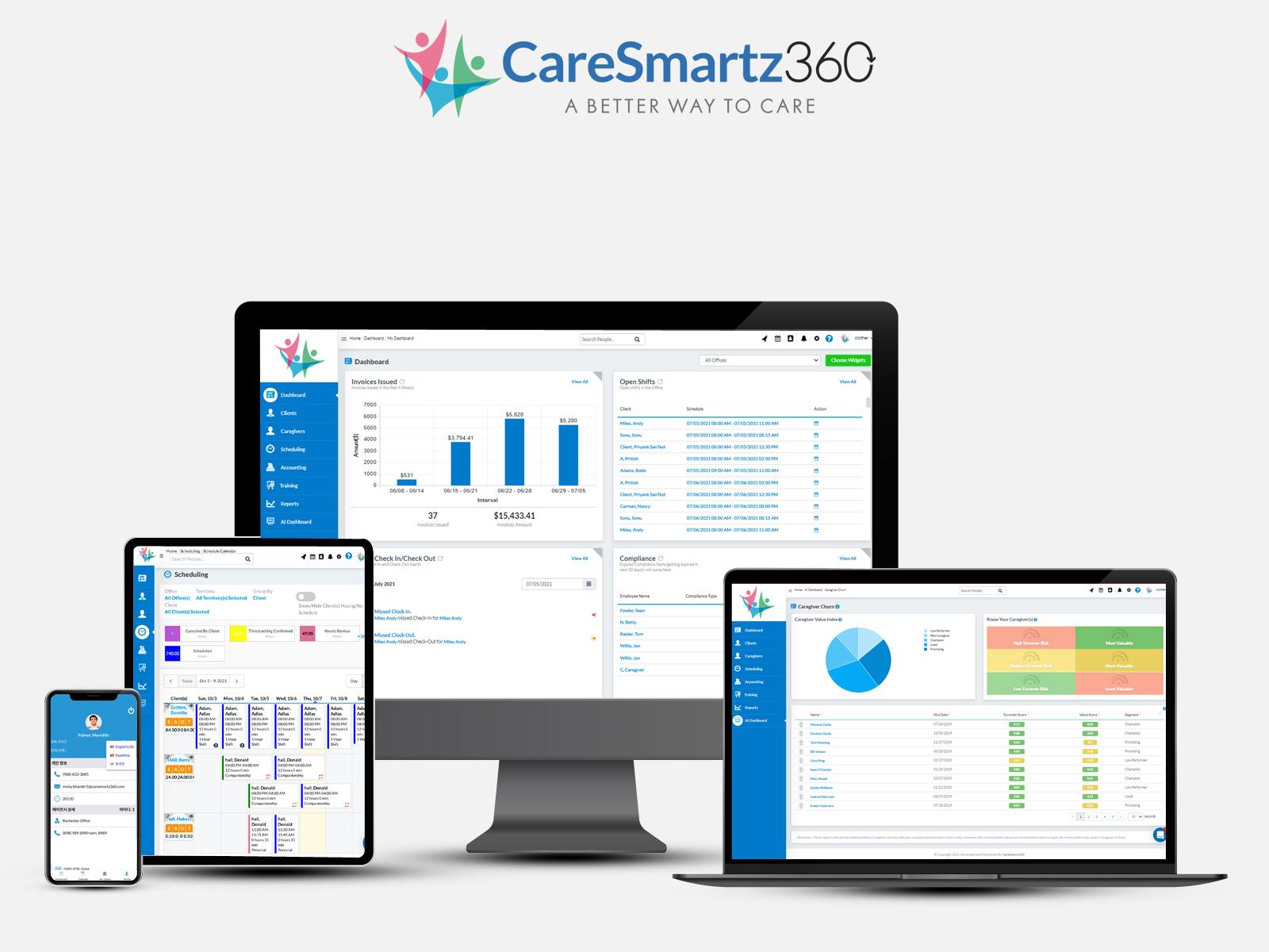 CareSmartz360 Home Care Software
