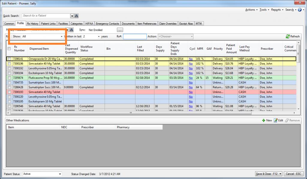 PioneerRX Software - 2