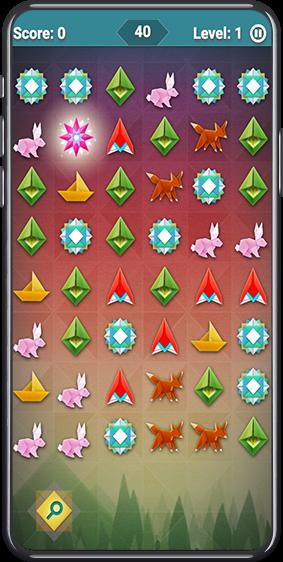 Match (similar to Candy Crush) Game