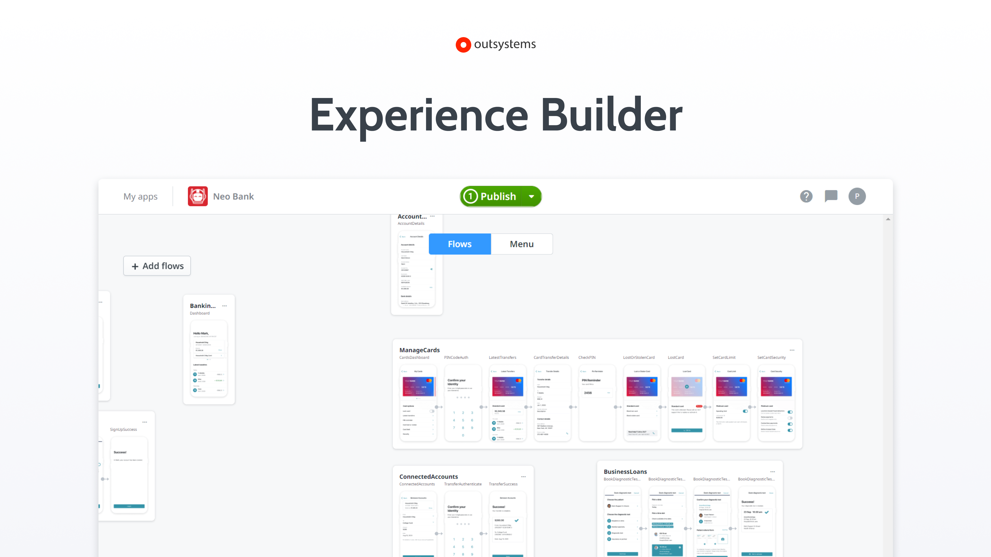 Experience Builder: Move faster from idea to live production app.