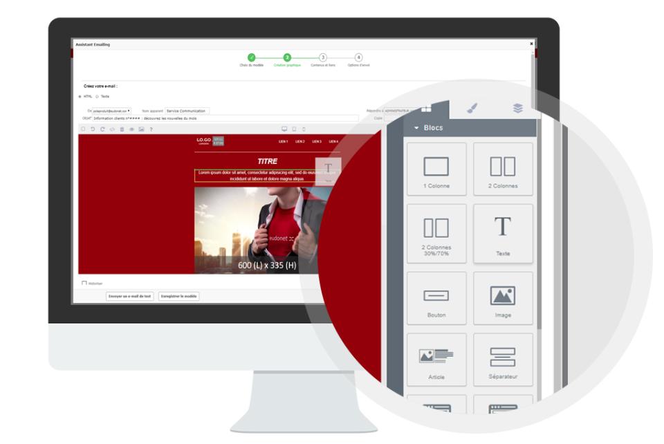 Eudonet Software - email marketing