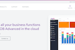 MYOB Advanced screenshot: ERP software combines real-time data with automated processing across finance, sales and operations. In short? It's software that collects, stores, and manages information about your entire business.
